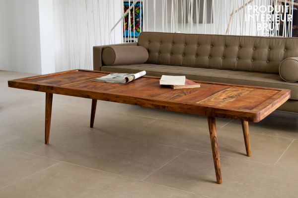 Retro furniture is a world away from industrial furniture, with its natural look.
