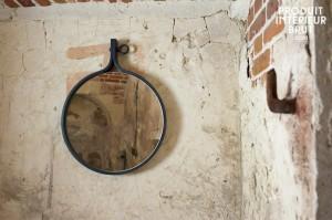 « Matka », un miroir mural  de style industriel – Produit Intérieur Brut…