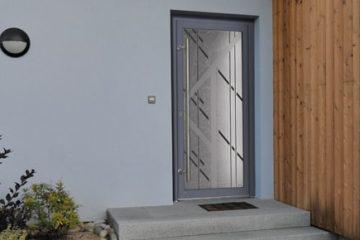Une porte d'entrée PVC Tryba !