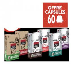 Petite promo moncafeitalien sur les cafés en capsule biodégradable San Marco