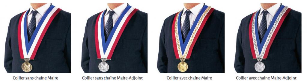 Colliers de cérémonie mairie – DRAGO PARIS
