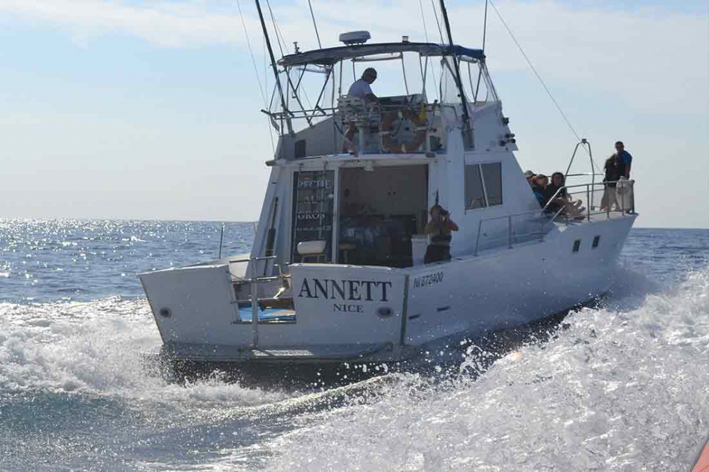 pêche en bateau Antibes