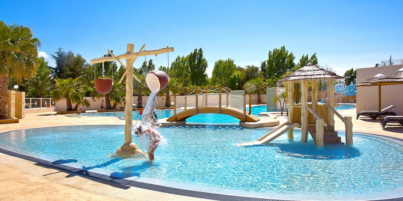 Le camping LeFlorida abrite le parc aquatique de Saint Cyprien